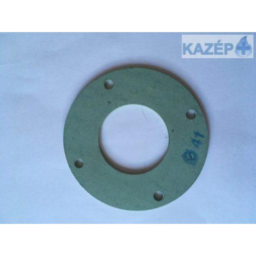 Tömítés (égő és ventilátor közé, 41mm)